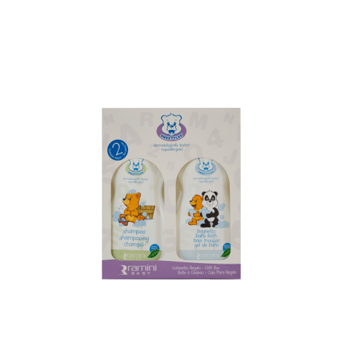 SWEETTLES COFANETTO VIOLA SHAMPOO+BAGNETTO