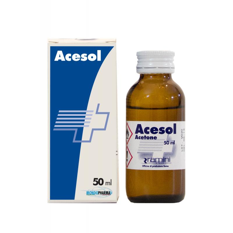 ACESOL (Acetone con astuccio)