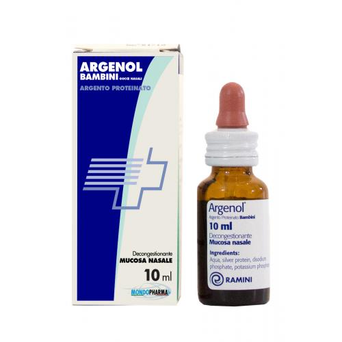 ARGENOL BAMBINI (Argento Proteinato 0,5%)