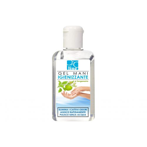Gel Mani Igienizzante - 80 ML - al Bergamotto - Alcool più 70%