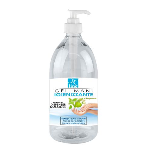 Gel Mani Igienizzante - 500 ML - al Bergamotto - Alcool più 70%